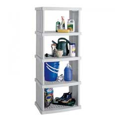 Suncast Resin 5 Shelf Storage Unit - 2.5 x 6ft