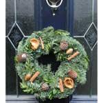 Luxury Pine Cone Christmas Wreath