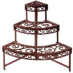 Fallen Fruits Quarter Round Etagere