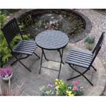 Rondeau Leisure Dakota Polywood Bistro Set