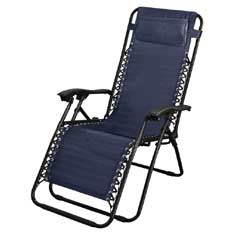 Brundles Navy Recliner Chair
