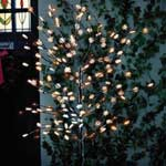 Gardman Solar Snowflake Tree - 120 LED