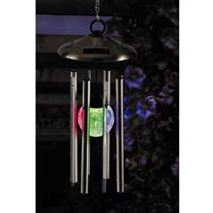 Gardman Solar Colour Changing Wind Chimes