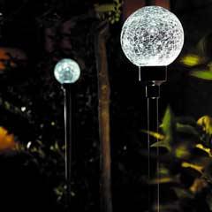 Gardman Solar Border Balls Set of 2