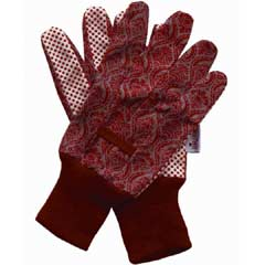 Briers Historic Palaces Baroque Cotton Grip Gloves Twin Pack - Medium