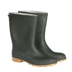 Briers Traditional Short Wellie Boot - Green