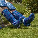Briers Fresh Floral Patterned PVC Boot