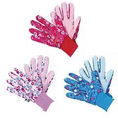 Briers Fresh Floral Triple Pack Gloves - Medium