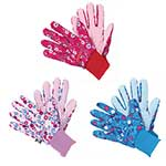 Briers Fresh Floral Triple Pack Gloves - Medium