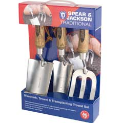 Spear & Jackson Traditional Stainless Steel Gift Set