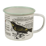 Thoughtful Gardener Bird Enamel Mug