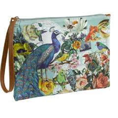 Wanderlust Peacock Make Up Bag