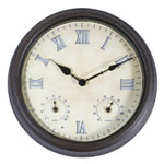 Town and Country Weathereye LED Outdoor Clock - 14in