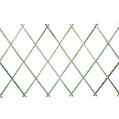 Botanico Expanding FSC Wood Trellis - Green 180 x 60cm