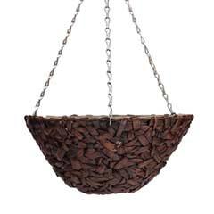 Botanico Hyacinth Hanging Basket 16in