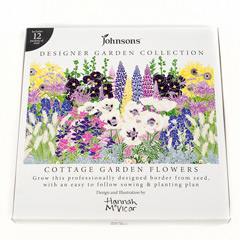Johnsons Designer Garden Collection - Cottage Garden Flowers