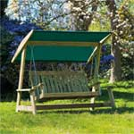 Alexander Rose FSC Farmers Swing Seat Green