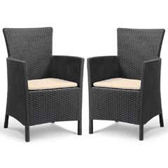 Keter Iowa Dining Chair - Pack of 2
