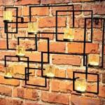 Gardman Designer Tealight Wall Art