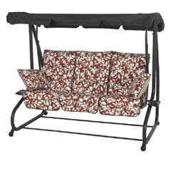 Glendale Marbella Leaf Swing Seat Bed