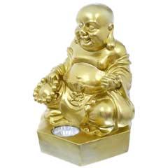 Smart Garden Solar Golden Buddha Spotlight