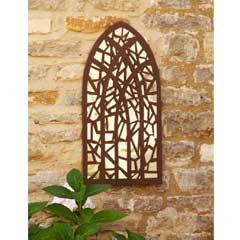 Smart Garden Gothic Whirl Mirror