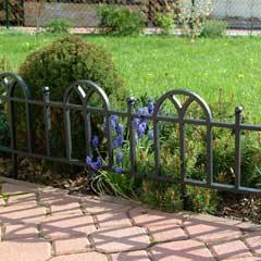 Garden Classic Lawn Edging Black 3m