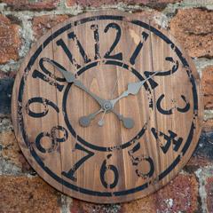 Gardman The Saloon Garden Clock - 33cm