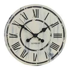 Gardman The Driftwood Garden Clock - 33cm