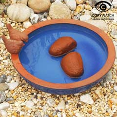 Wildlife World Blue Dipper Bird Bath