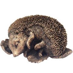 Tom Chambers Bronze Sleeping Hedgehog