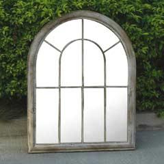Ellister Rustic Arch Garden Mirror