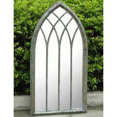 Greenfingers Gothic Arch Garden Mirror