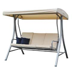 Ellister Umbria 3 Seater Garden Swing Seat