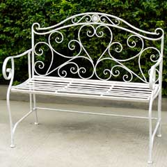 Greenfingers Alberta Ornate Bench 103cm