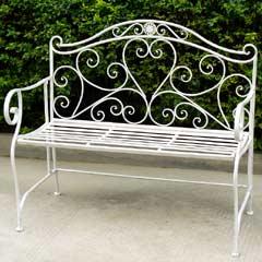 Greenfingers Alberta Ornate Bench 103cm