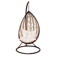 Greenfingers Rattan Egg Swing Chair
