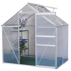 Terra Aluminium Greenhouse - 4 x 6ft