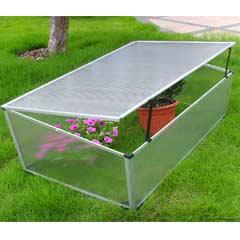 Greenfingers Aluminum Cold Frame 100 x 60cm