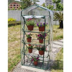Greenfingers Premium 4 Tier Pop-up Greenhouse