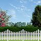 Terra Garden Fence Panel Kit 2.42m