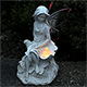 Solar Garden Fairy With Colour Changing Wings