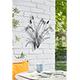La Hacienda Reeds and Dragonflies Wall Art - 58cm Width/>