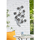 La Hacienda Flower Branch Wall Art - 87cm Height