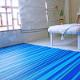 Stripes Blue Shades Outdoor Rug - 120 x 180cm